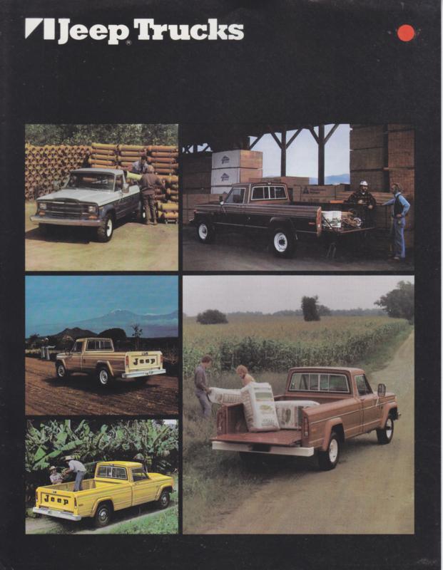 Trucks, leaflet, 2 pages, 1980, USA