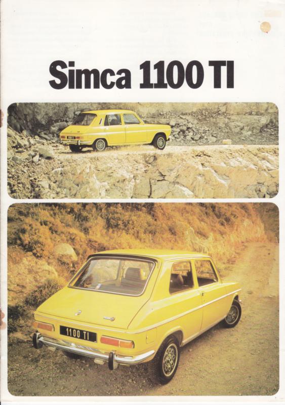 1100 TI, 8 pages, 9/1973, Dutch language