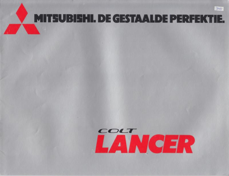 Colt Lancer 1200/1400/1600 brochure, 16 pages, about 1976, Dutch language