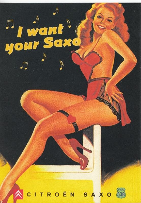 Citroen Saxo 538 Spot, Dutch Boomerang freecard, P14-99, 1999
