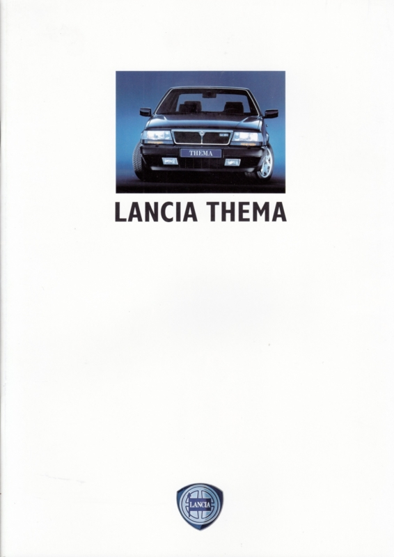 Thema brochure with 8.32, A4-size, 40 pages, 12/1989, German language