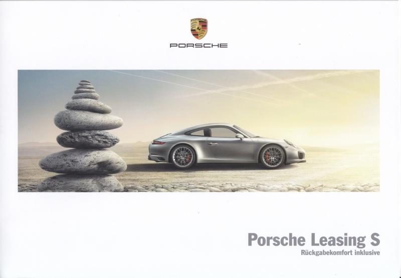 Leasing S brochure , 6 + 2 pages, 06/2016, German language