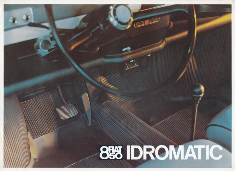850 Idromatic, 4 pages, 11/1966, Dutch language