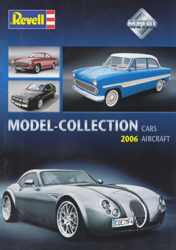 Revell brochure, 16 pages, 2006, English language