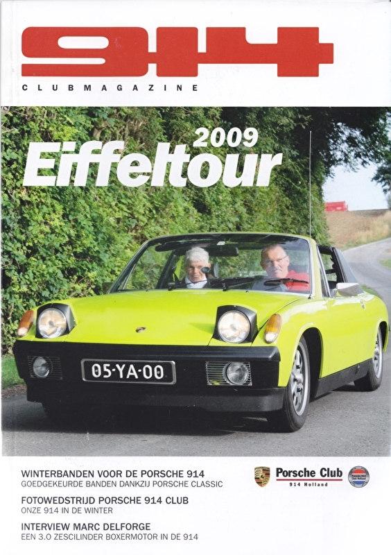 Porsche 914 Club magazine, 44 pages, issue 3-2009, Dutch language