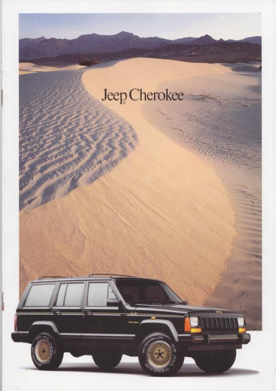 Cherokee, brochure, 14 pages, 12/1989, German language