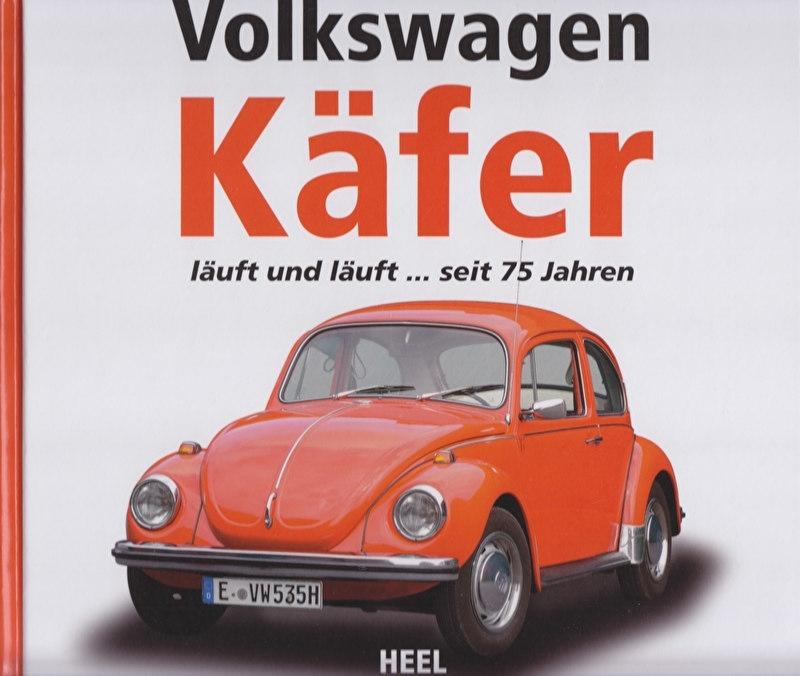 Volkswagen Käfer (Beetle) since 75 years, 212 pages, German language, ISBN 978-3-86852-694-3