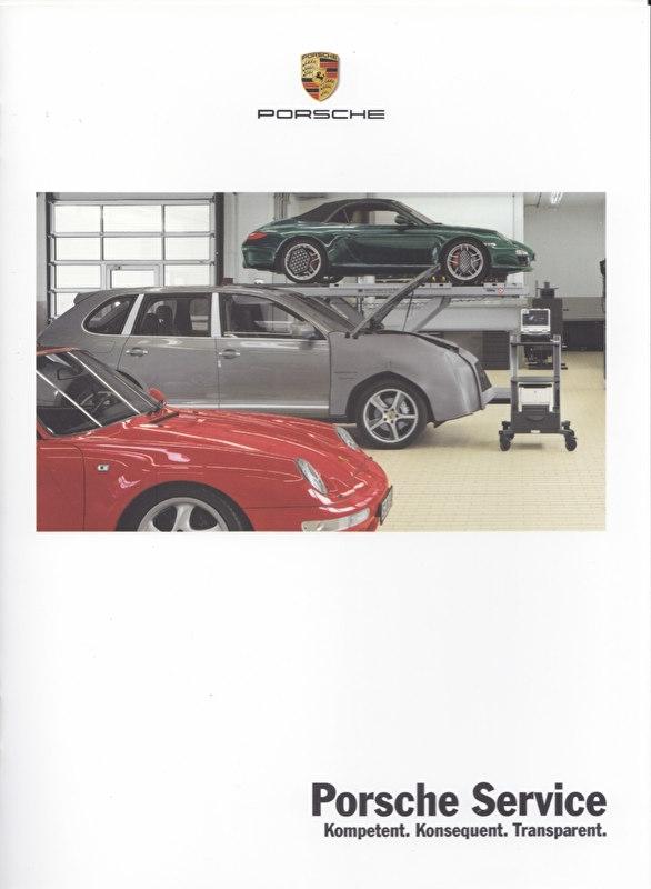 Service brochure , 12 pages, 12/2008, German language