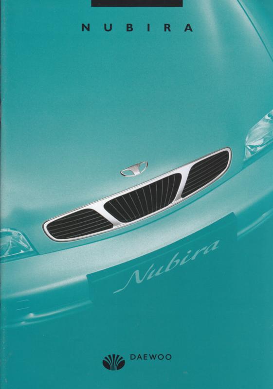 Nubira 4/5/Wagon door brochure,  24 pages,  05/1997, Dutch language