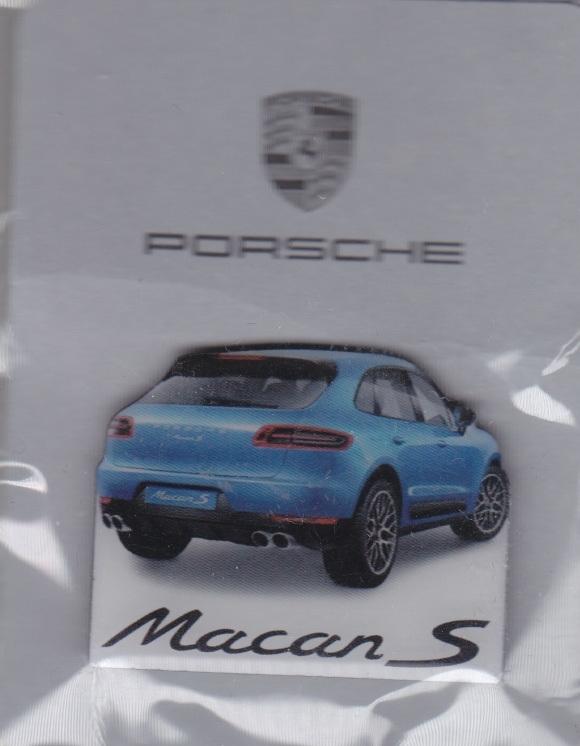 Porsche Macan S pin