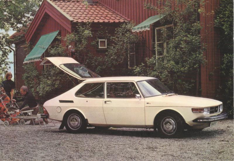 99 L Combi Coupé Hatchback, Swedish, factory-issue, # 201665, 1974?