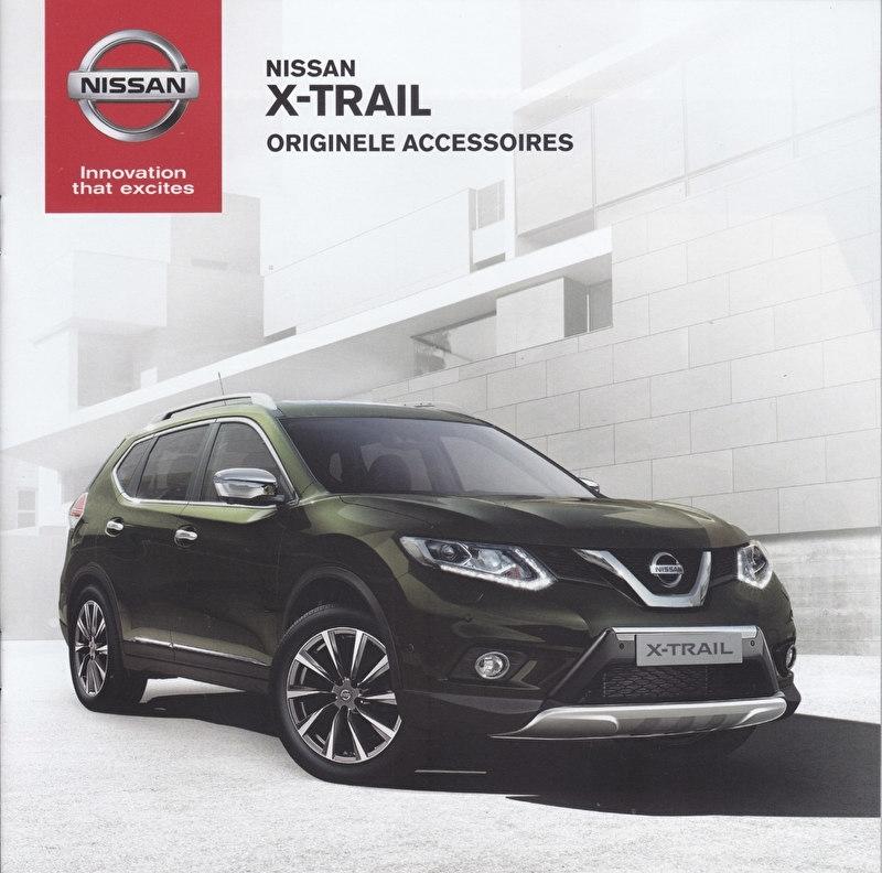 X-Trail accessories brochure, 20 pages, 07/2014, Dutch language