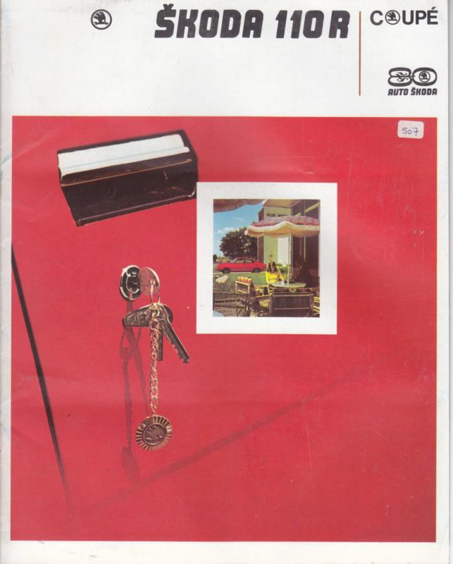 110 R Coupé brochure, 16 pages, Dutch language, about 1980
