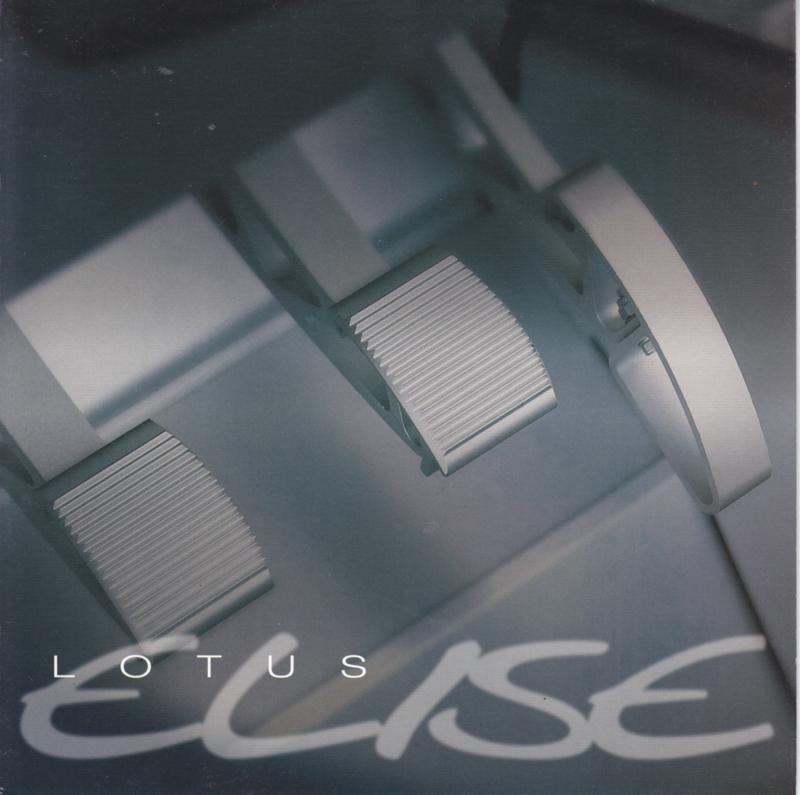 Elise, 6 page brochure, square, about 1997,  English language