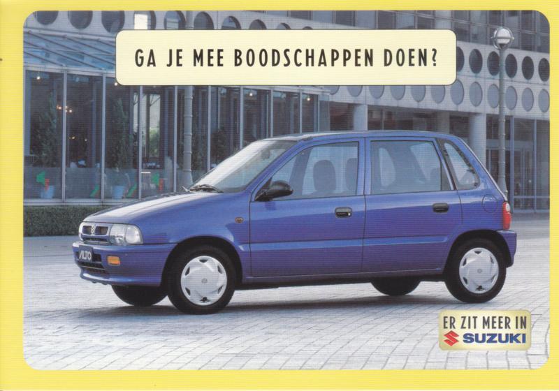 Alto, DIN A6-size postcard, Dutch language, 1999