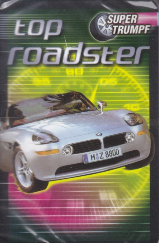 NRZ Top Roadster,  32 different cards in plastic cover, German issue