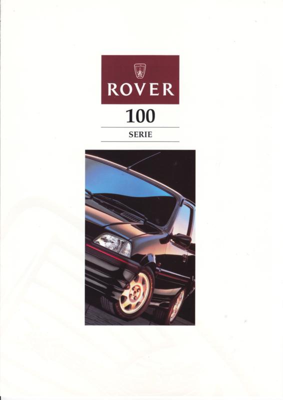 100 brochure, 6 pages, A4-size, about  1995, Dutch language