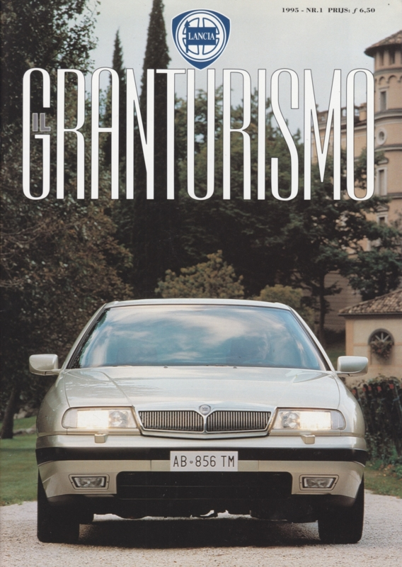 Lancia Granturismo, A4-size, 36 pages, Nr. 1, 1995, Dutch language