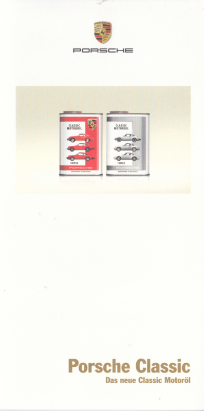 Engine Oil folder, 6 smaller pages, 02/2014, German