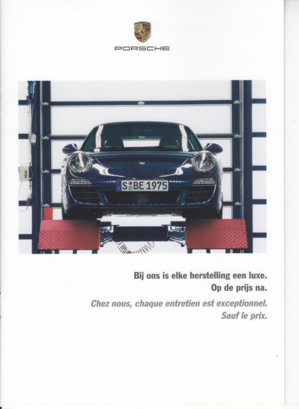 Maintenance brochure, 8 pages, about 2009, Dutch/French language