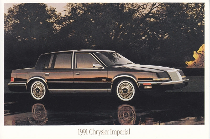 Imperial, US postcard, continental size, 1991