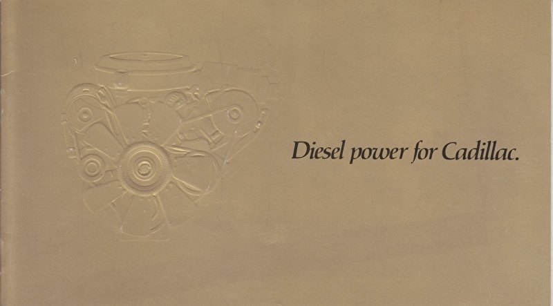 Diesel Power (5,7 litre), 12 smaller pages, USA, 1979, English