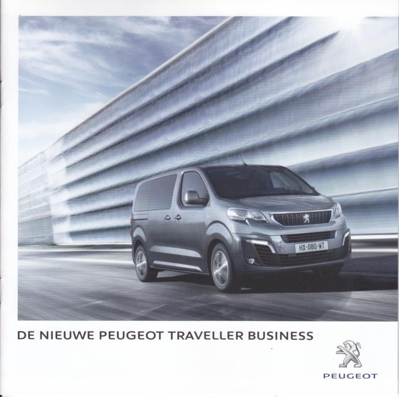 Traveller Business brochure, 20 pages, Dutch language, 08/2016