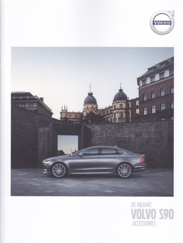 S90 Accessories brochure, 12 pages, MY17, 2016, Dutch language