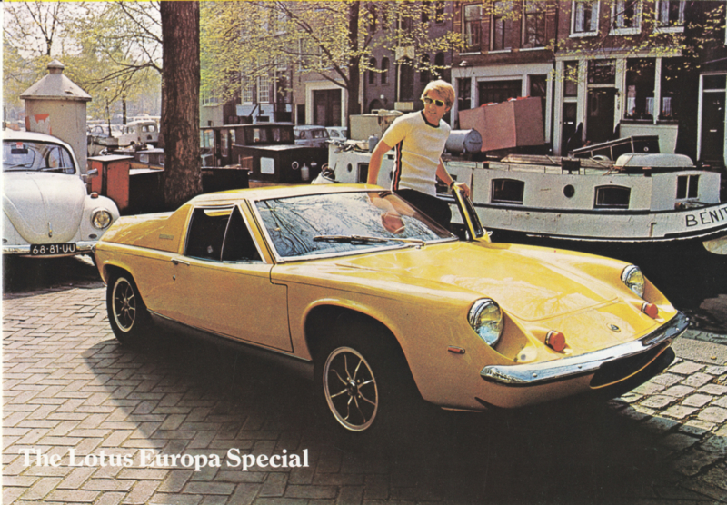 Europa Special brochure, 8 pages, factory-issued, c1974, English language