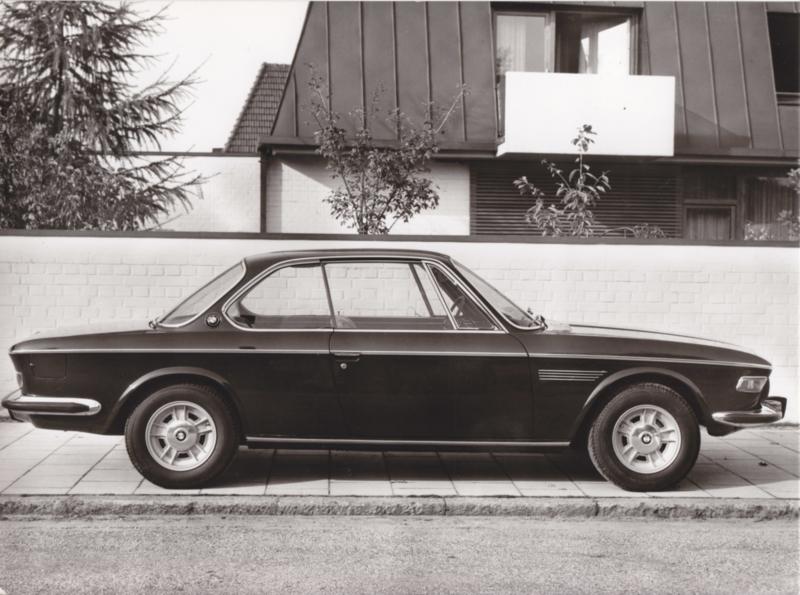 BMW 2800 CS - 1969 - German text on the reverse