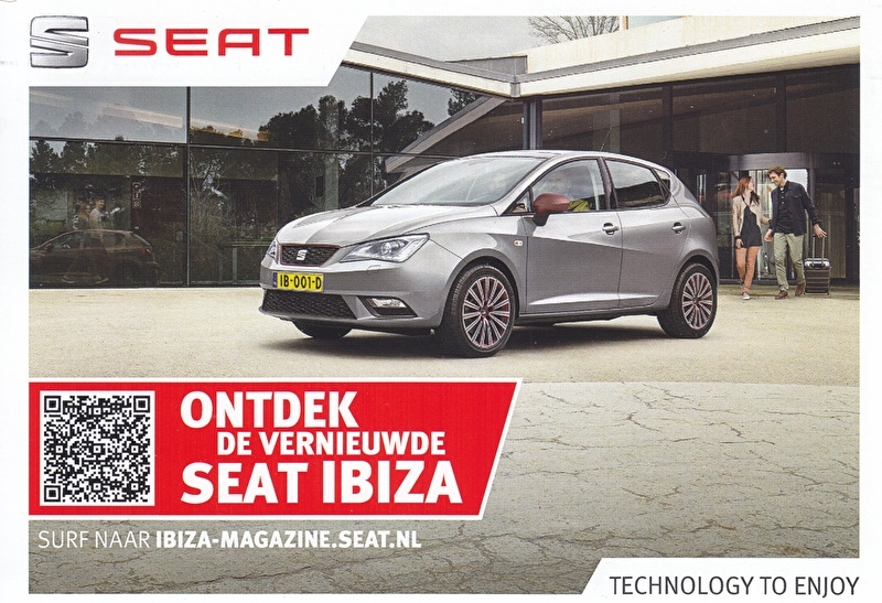 Ibiza new model, A6-size postcard, Dutch, 2015