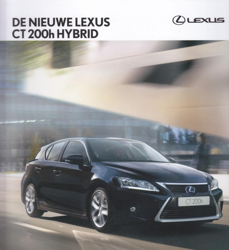 CT 200 h Hybrid brochure, 56 square (23cm) pages, 01-2014, Dutch language