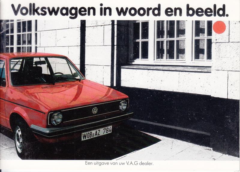 Program brochure, 24 pages,  A6-size, Dutch language, 10/1982
