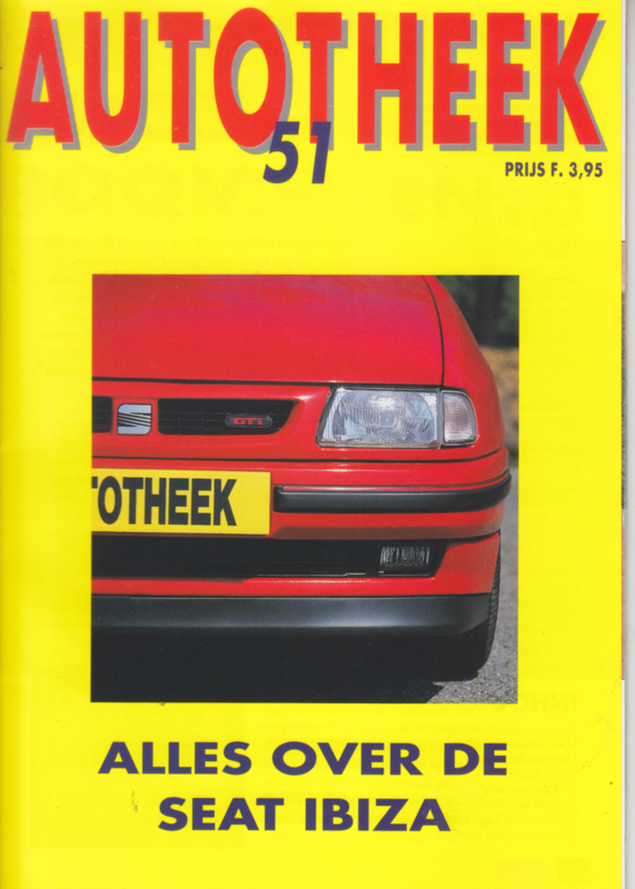 issue # 51, Seat Ibiza, 36 pages, 6/1993, Dutch language