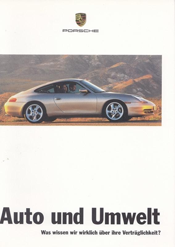 Porsche & Environment, 28 pages, 01/1998, German language
