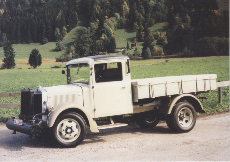 Mercedes-Benz L 1500 1937, Classic Car(d) of the month 9/2001, Germany