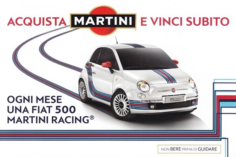 500 card, DIN A-6 size, Italian language, 04/2011