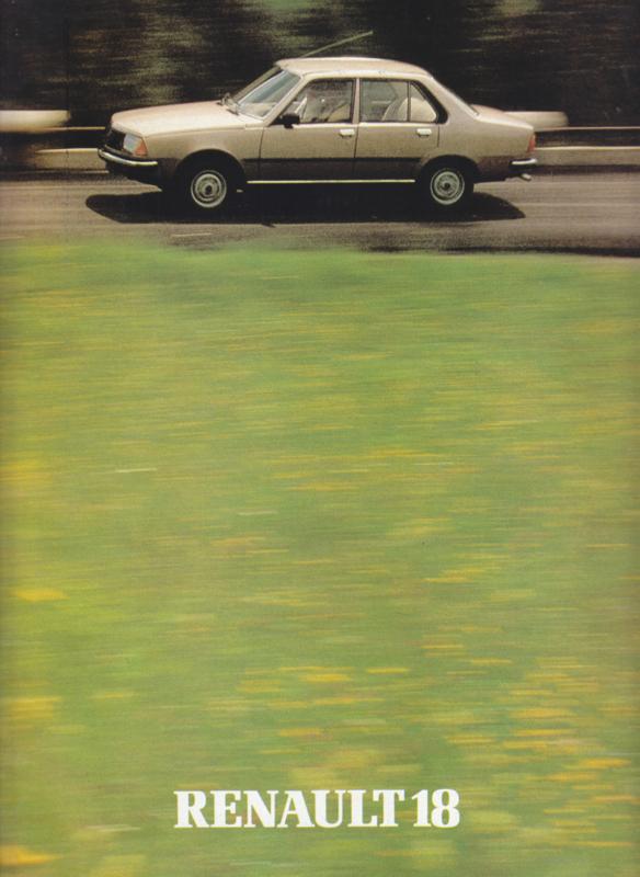 18 brochure, 32 pages, about 1980, Dutch language