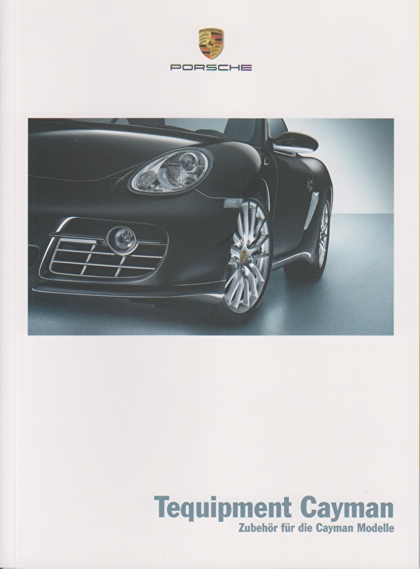 Cayman Tequipment, 44 pages, 05/2007, German