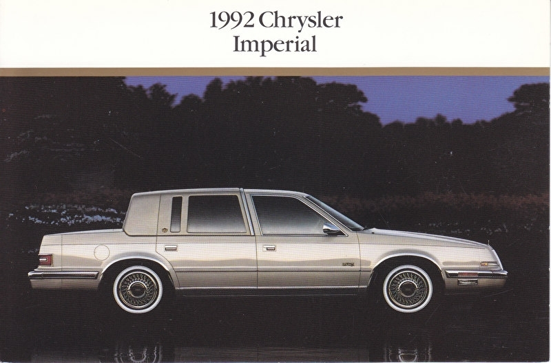 Imperial, US postcard, continental size, 1992