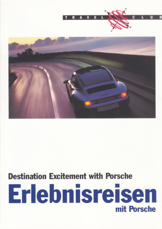 Travel brochure, 10 pages, 08/1995, German/English language