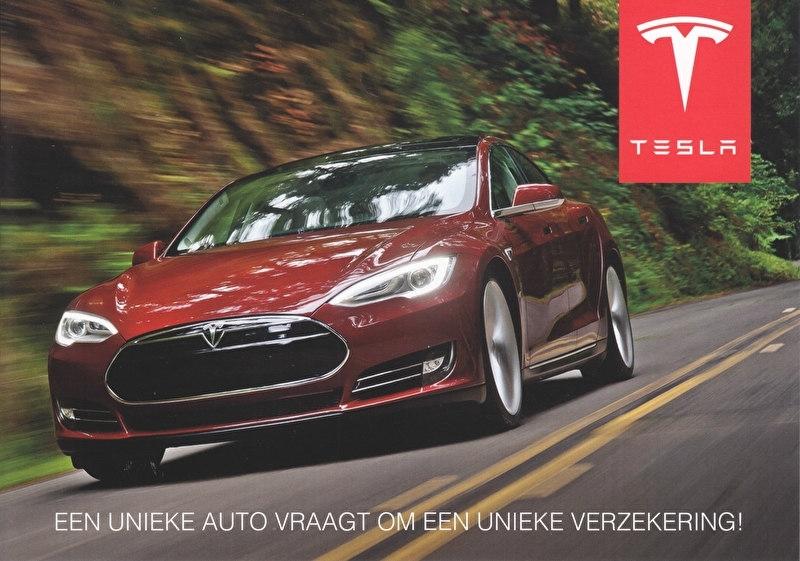 Insurance for Model S, Dutch sheet, 21 x 15 cm, 2014