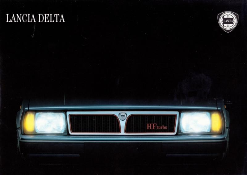 Delta program brochure, A4-size, 16 pages, about 1988, Dutch language