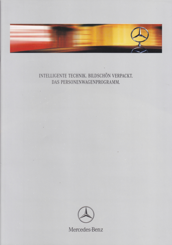 Program brochure. 32 pages, 08/1999, German language
