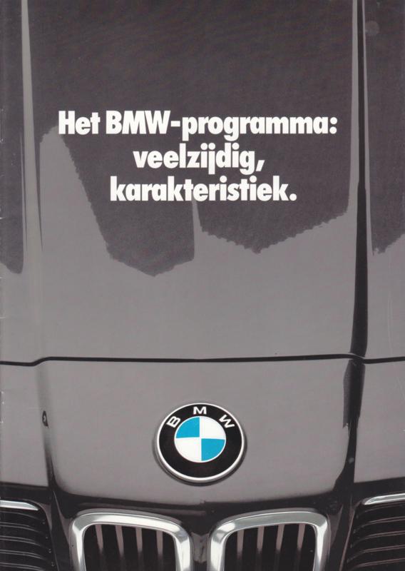 Program 1982 brochure, 20 pages, A4-size, 2/1981, Dutch language
