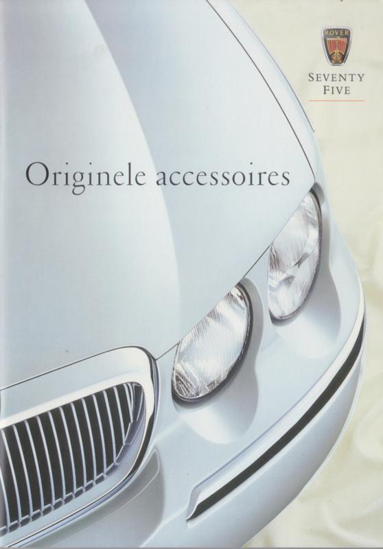 75 Sedan accessories brochure, 52 pages, A5-size, 1999, Dutch language