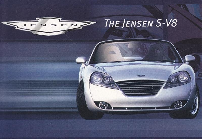 S V8, DIN A6 size postcard, English language, about 2000
