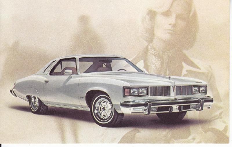 Grand LeMans 2-Door Hardtop Coupe, 1976, standard-size, USA