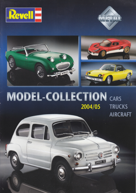 Revell brochure, 16 pages, 2004/05, English language