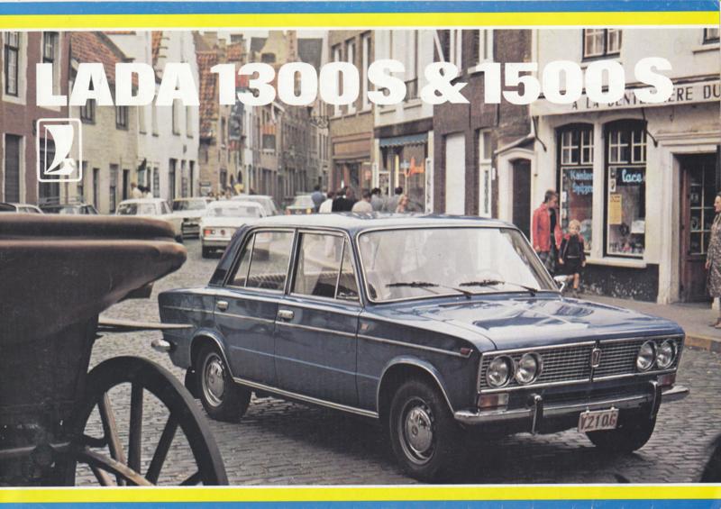1300 S/1500 S Sedan brochure, 8 pages, about 1978, Dutch language